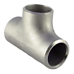 Pipe Equal Tee 316L, 65Nb (2½ Inch), Schedule 40S