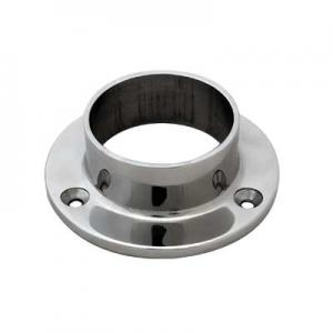 Wall and Floor Flange 25.4mm, 316 Mirror Finish - 1016A
