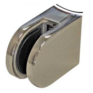 Glass Clamp (Mirror) Curved Base 6-12mm - 4563R