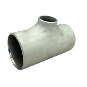 Seamless Pipe Reducing Tee 304L, 40 x 32Nb (1½ x 1¼ Inch), Schedule 10S